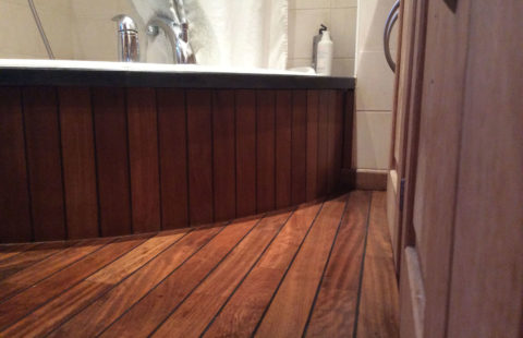salle-de-bain - rénovation bois